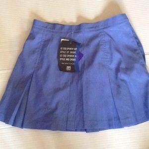 Le coq sportif blue skirt